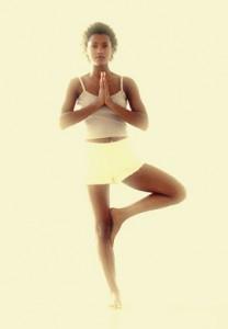 yoga - stand on 1 leg
