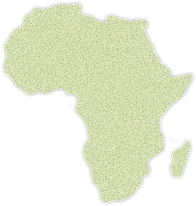 African outline map