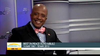 Rest in Peace Vuyo